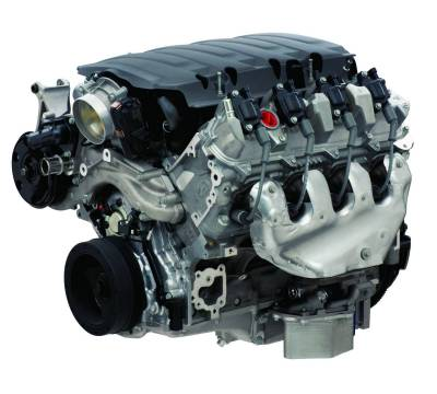 Chevrolet Performance - Chevrolet Performance 19418843 - LT1 6.2L Wet Sump Crate Engine - 460HP