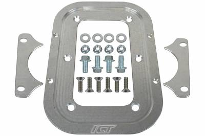 ICT Billet - ICT Billet 551183 - Billet Optima Battery Relocation Tray / Hold Down Mount