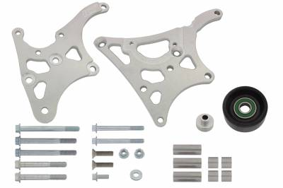 ICT Billet - ICT Billet 551577-2 - LS1 High Mount - Camaro Type 2 - Power Steering & Alternator Bracket Kit