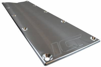 ICT Billet - ICT Billet 551629 - LS Gen 3 Billet Valley Pan Cover Plate (Knock Sensor Delete) LS1