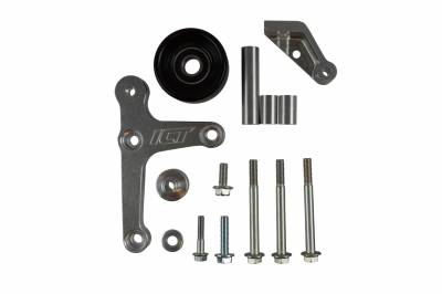 ICT Billet - ICT Billet 551668-2 - LS1 Camaro - Billet Low Mount Alternator Bracket Kit w/ Pulley