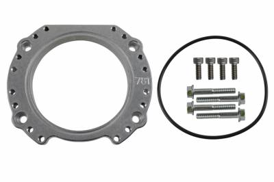 ICT Billet - ICT Billet 551781 - LS Throttle Body Rotation Angle Adapter LS3 Rotating Turn Spin 4 Bolt TB DBW