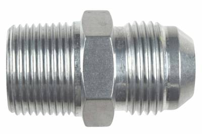 """ICT Billet - ICT Billet AN816-12-12A - Straight -12AN Flare Male to 3/4""""NPT Pipe Adapter Fitting 12 AN Bare Aluminum"""
