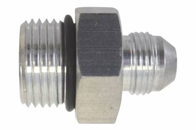 ICT Billet - ICT Billet AN920-08-12A -  -8AN Flare to 12 Oring ORB Male Fuel Pump Rail Adapter Fitting Flare Hose Bare