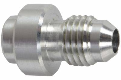 ICT Billet - ICT Billet AN970-04A - Aluminum -4AN Weld On Bung Male Hose End Nipple Weldable 4 AN