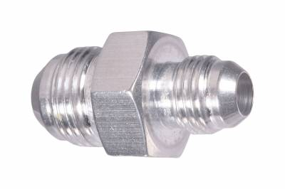 ICT Billet - ICT Billet F06AN08AN -  -6AN Male Flare to -8AN Male Flare Coupler Adapter Fitting Union