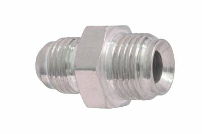 ICT Billet - ICT Billet F06AN625IF - 6an Male Flare to 5/8-18 Inverted Flare Power Steering Adapter Fitting