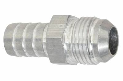 """ICT Billet - ICT Billet F10AN625BA-A -  -10AN Flare to 5/8"""" (.625) Hose Barb Adapter Fitting Aluminum Flare"""