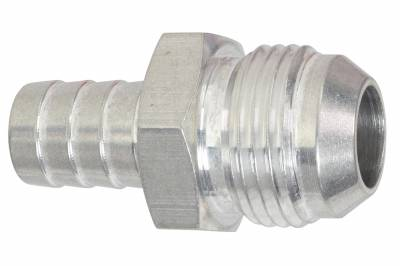 """ICT Billet - ICT Billet F12AN625BA-A -  -12AN Flare to 5/8"""" (.625) Hose Barb Adapter Fitting Aluminum Flare"""
