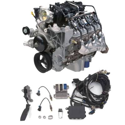 Chevrolet Performance - Chevrolet Performance 19259918 - Aluminum 5.3L LC9 Crate Engine