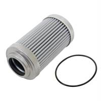 """Aeromotive Fuel System - Aeromotive Fuel System 12650 - Replacement Element, 10-m Microglass, for 12340/12350 Filter Assembly, Fits All 2"""" OD Filter Housings, For Gas and Alcohol Fuels - Image 1"""