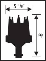 MSD - MSD 8534 - Billet Chrysler Small Block Distributor - Image 2