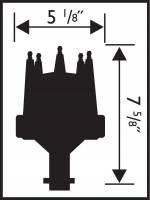 MSD - MSD 8548 - Buick V8 215-350 Pro Billet Distributor - Image 2