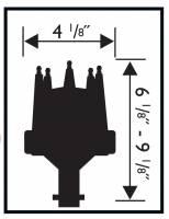 MSD - MSD 8547 - Chevy Extra Tall Slip Collar Pro-Billet Distributor - Image 2