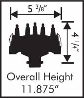 MSD - MSD 84697 - Chevy V8 Crank Trigger Distributor - Image 2