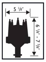 MSD - MSD 85561 - Chevy V8 w/Slip Collar Distributor - Image 2