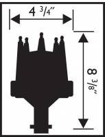 MSD - MSD 8504 - Chrysler, 318, 340, 360, E-Curve Distributor - Image 2