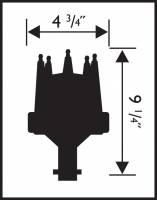 MSD - MSD 8503 - Ford 289, 302 E-Curve Pro-Billet Distributor - Image 2