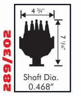 MSD - MSD 8579 - Ford 302 Small Diameter Pro-Billet Distributor - Image 2