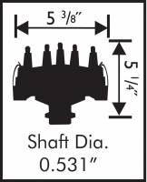 MSD - MSD 8569 - Ford 351C-460 Crank Trigger Distributor - Image 2