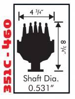 MSD - MSD 8477 - Ford 351C-460 Street Pro-Billet Distributor - Image 2