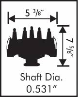 MSD - MSD 8378 - Ford 351W Crank Trigger Distributor - Image 2