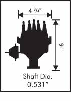 MSD - MSD 8595 - Ford FE Ready-to-Run Distributor - Image 2
