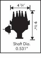 MSD - MSD 8383 - Ford Y-Block Ready-to-Run Distributor - Image 2