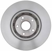 ACDelco - ACDelco Advantage Non-Coated Front Disc Brake Rotor 18A2708A - Image 2