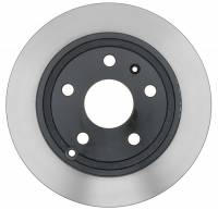 ACDelco - ACDelco Advantage Coated Rear Disc Brake Rotor 18A2727AC - Image 4