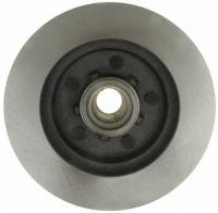 ACDelco - ACDelco Advantage Non-Coated Front Disc Brake Rotor and Hub Assembly 18A296A - Image 2