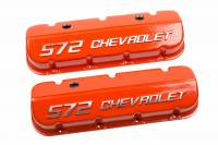 "Chevrolet Performance - Chevrolet Performance 12499200 - ""572 Chevrolet"" Valve Covers for BBC - Image 1"