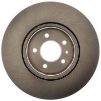ACDelco - ACDelco Advantage Non-Coated Front Disc Brake Rotor Assembly 18A81048A - Image 3