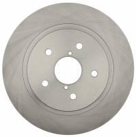 ACDelco - ACDelco Advantage Non-Coated Rear Disc Brake Rotor 18A81956A - Image 2