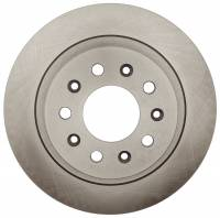 ACDelco - ACDelco Advantage Non-Coated Rear Disc Brake Rotor 18A81999A - Image 2
