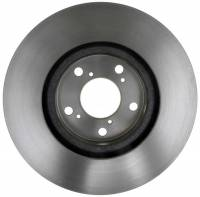ACDelco - ACDelco Advantage Non-Coated Front Disc Brake Rotor Assembly 18A2687A - Image 3