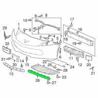 Genuine GM Parts - Genuine GM Parts 22799212 - C7 Corvette front center air deflector - Image 2