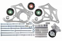 ICT Billet - ICT Billet 551135-3-7176 - LSA Supercharger High Mount A/C Sanden 7176 Compressor Bracket Kit CTS-V ZL1 - Image 5