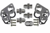 ICT Billet - ICT Billet 551564 - LS Remote Mount Water Pump Adapters w/ -12AN Fittings - Image 6