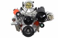 ICT Billet - ICT Billet 551577-2 - LS1 High Mount - Camaro Type 2 - Power Steering & Alternator Bracket Kit - Image 2