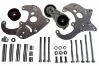 ICT Billet - ICT Billet 551585X-2 - LS Camaro R4 A/C Air Conditioner Compressor Bracket Kit LS1 Camaro LSX AC - Image 1