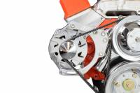 ICT Billet - ICT Billet 551672X - SBC Alternator Bracket - for Double Hump Heads (bolts to water pump only) - Image 2
