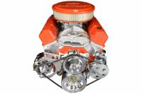 ICT Billet - ICT Billet 551672X - SBC Alternator Bracket - for Double Hump Heads (bolts to water pump only) - Image 5