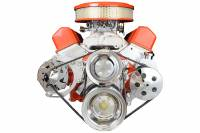 ICT Billet - ICT Billet 551672X - SBC Alternator Bracket - for Double Hump Heads (bolts to water pump only) - Image 6