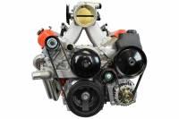 ICT Billet - ICT Billet 551785-2 - LS1 1998-2002 Camaro Power Steering Pump Bracket Kit Z28 Firebird LS Billet ICT - Image 2